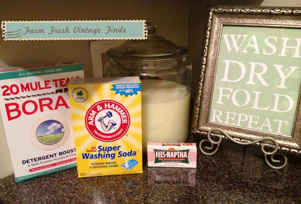 Homemade Liquid Laundry Detergent Recipe Farm Fresh