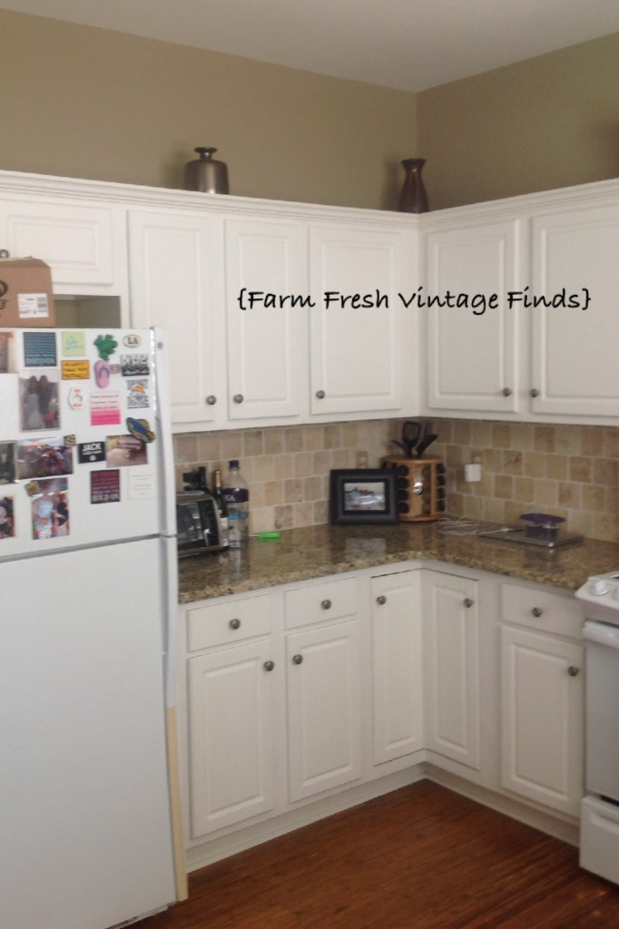 Painting thermofoil cabinets with annie sloan part 1 for Thermofoil cabinets