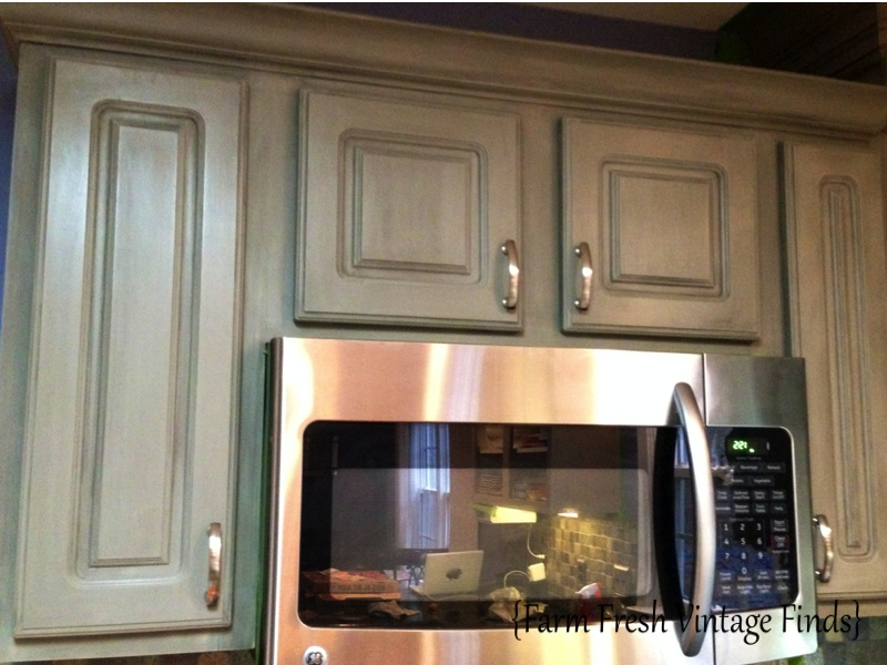 Painting Thermofoil Kitchen Cabinets the Big Reveal!!! - Farm ...