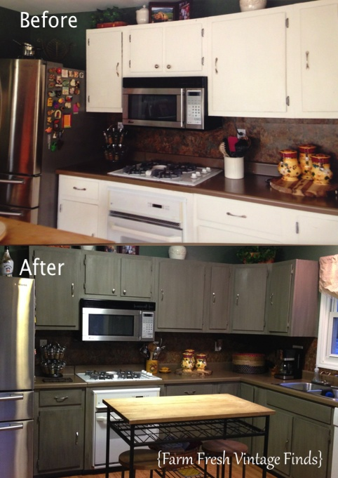 How to Paint Your Kitchen Cabinets with Annie Sloan French ...