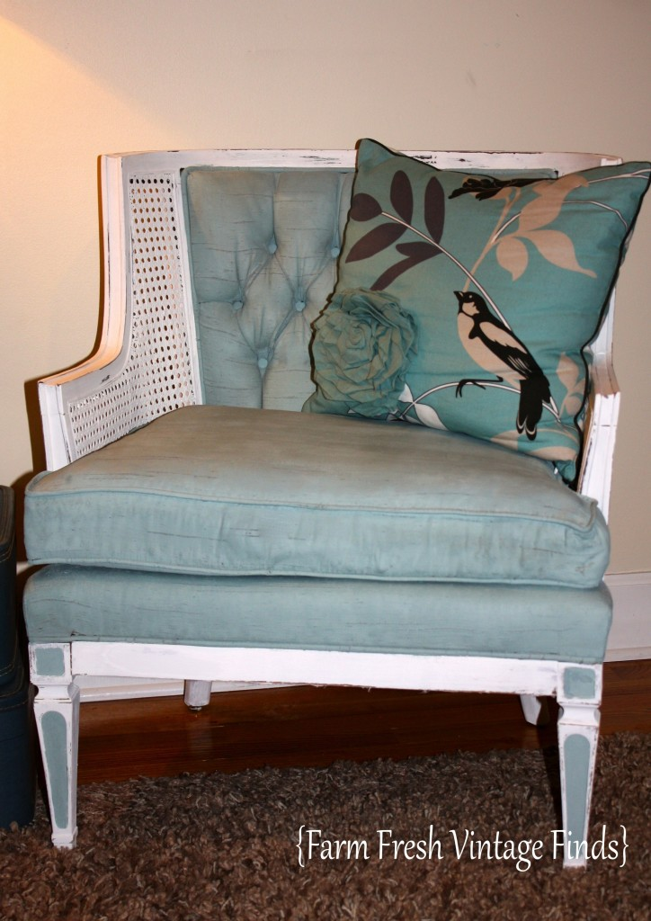 Painted Duck Egg Chair 14_0