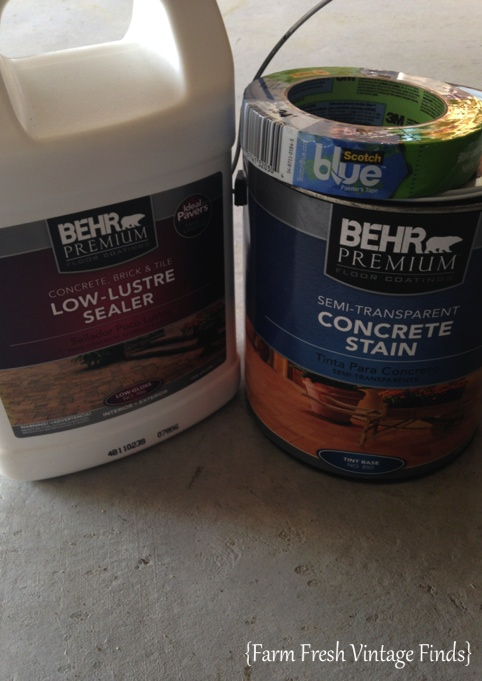 Behr Patio Paint Modern Kitchen With Concrete Floor