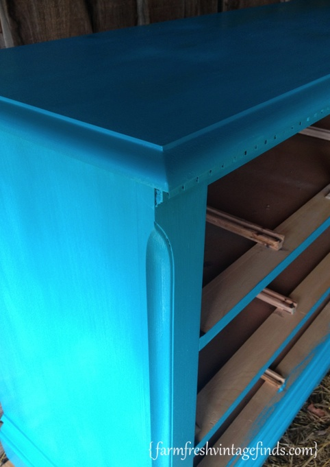 Turquoise Dresser 2