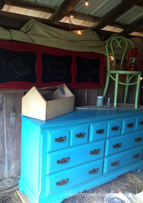 Turquoise Dresser 4