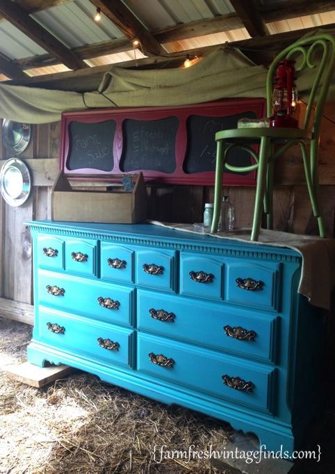 Turquoise Dresser 5