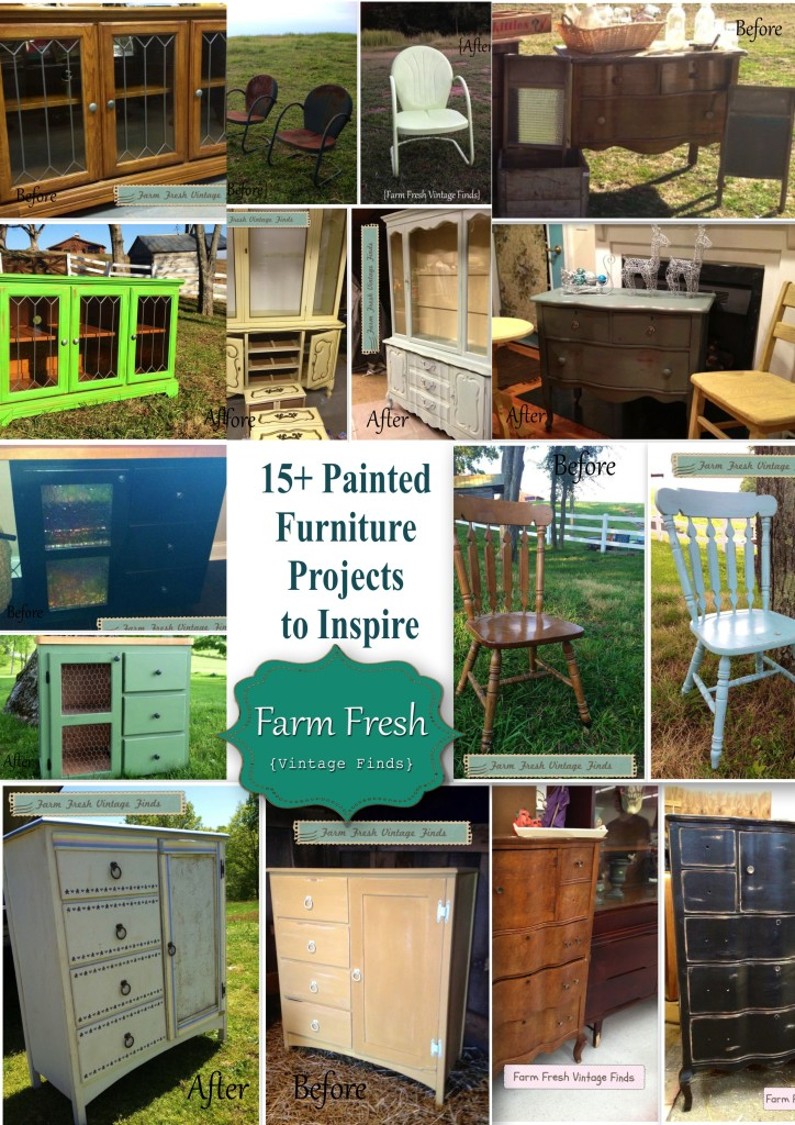 painted furniture ideas15 Before and After Painted Furniture Ideas  Farm Fresh Vintage