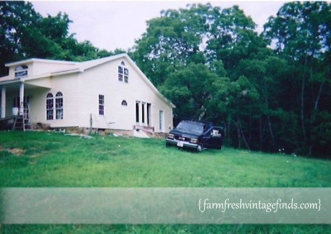 Farmhouse Before and After
