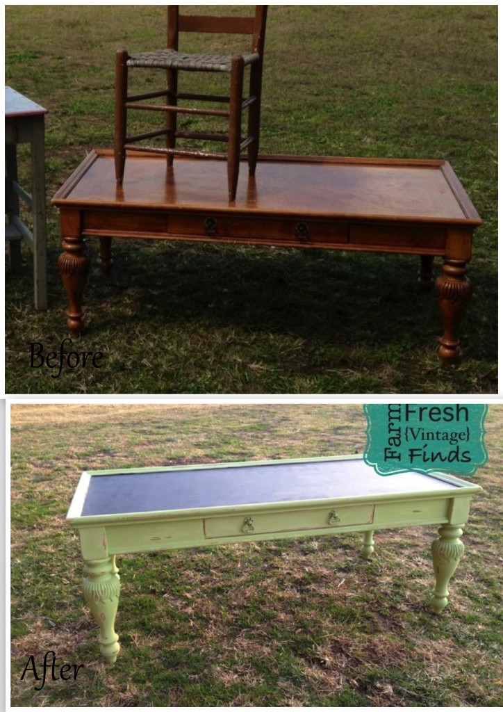 Lime Green Coffee Table