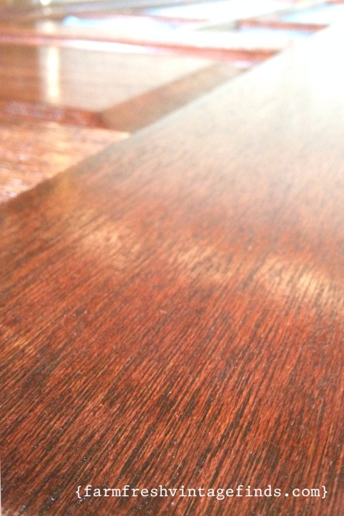 Minwax stained wood
