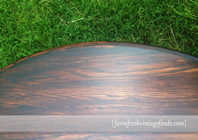 Dark Stained Minwax Table