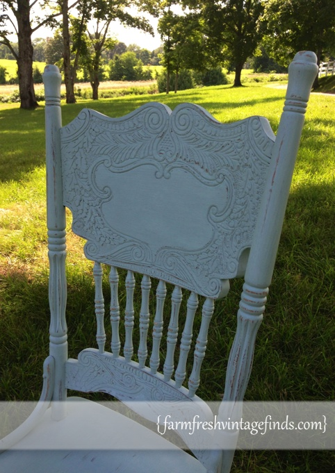 Duck Egg Painted Chair