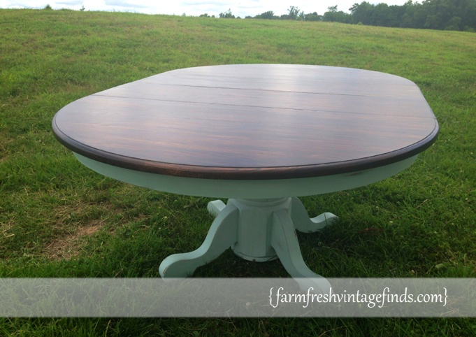 Minwax Stained Table
