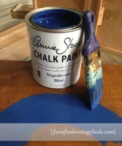 Annie Sloan Napoleonic Blue Paint