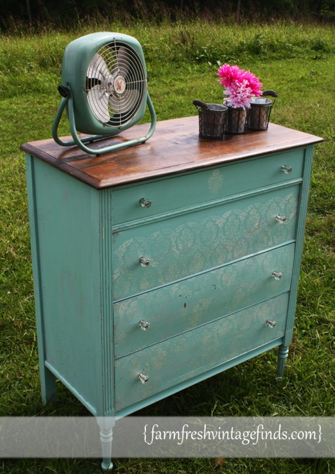 Annie Sloan Provence Chest