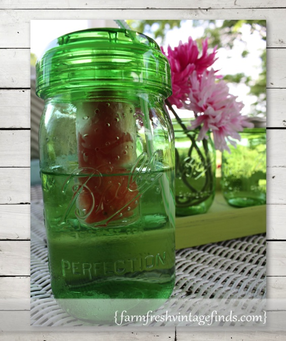 Ball Jar with Infuser lid