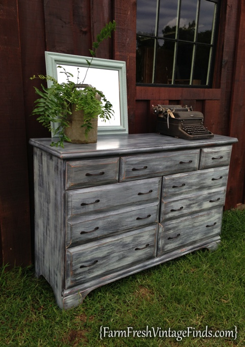 painted driftwood dresser farm fresh vintage finds