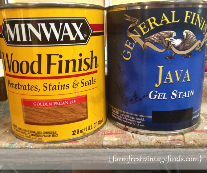 Minwax and General Finishes