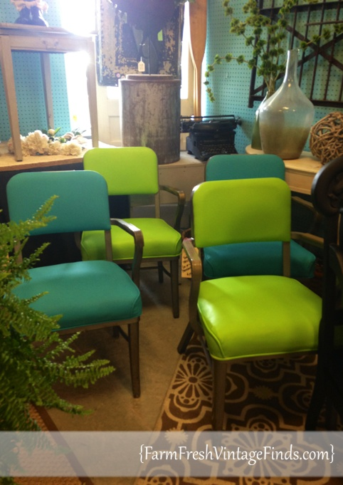 Colorful Vntage Chairs