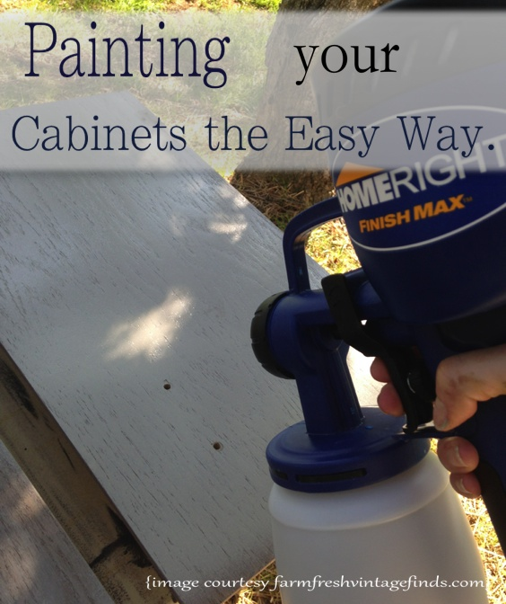 Painting Your Cabinets Easily