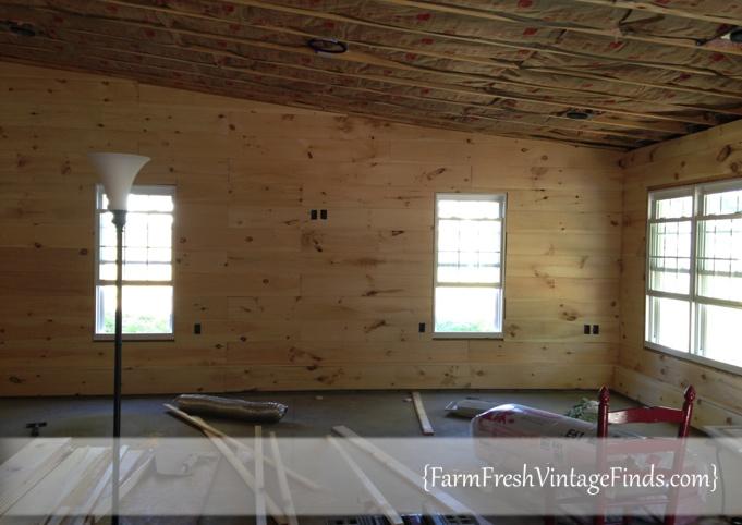 Installing Plank Walls