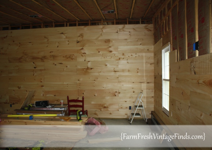Installing a Plank Wall