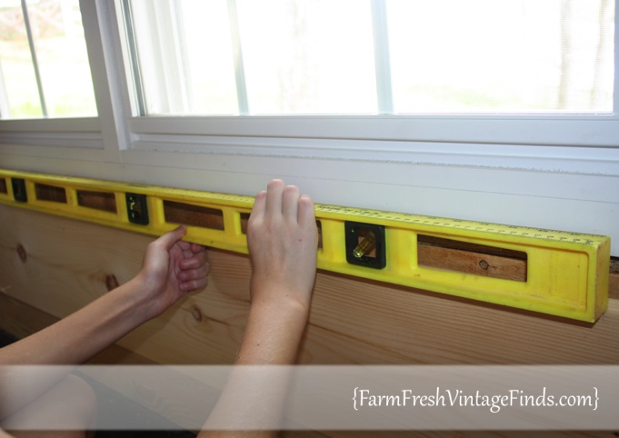 Leveling Tounge and Groove Lumber