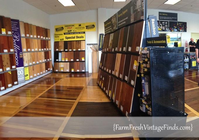 Lumber Liquidators Store Floor