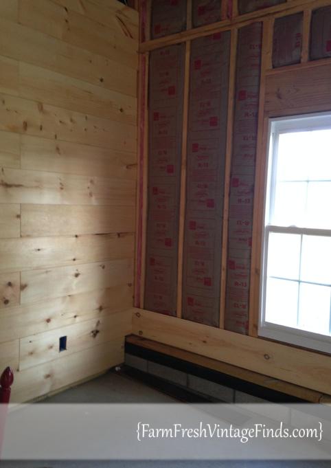 Plank Wall Install