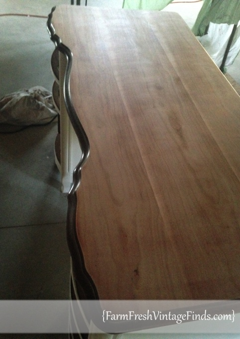 French Provencial Desk Top