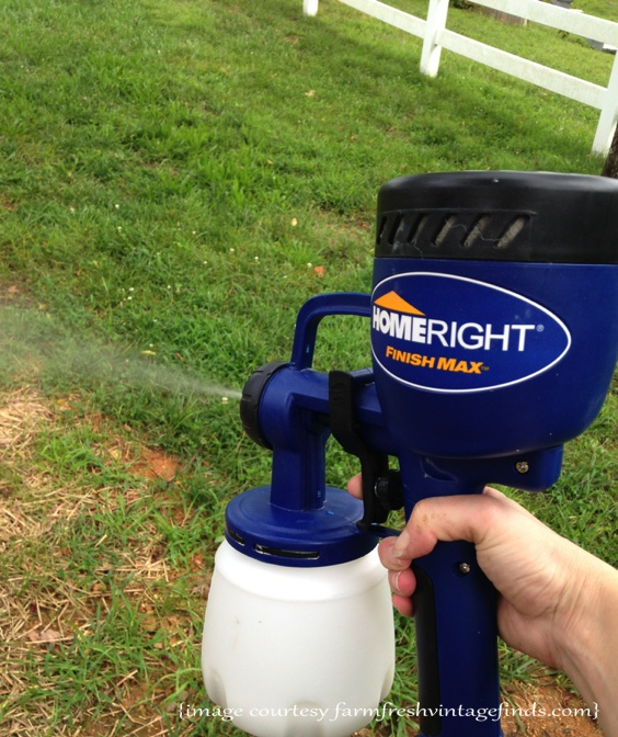 HomeRight Spraying Water to Clean