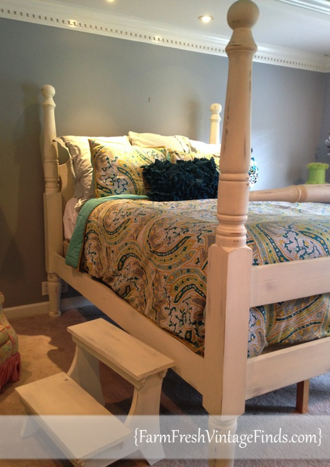 Annie Sloan Old White Bed Farm Fresh Vintage Finds