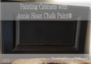 Painting Cabinets with Annie Sloan Chalk Paint
