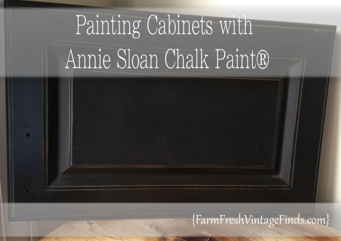 Kitchen painted with annie sloan chalk paint farm fresh for Can i paint kitchen cabinets with chalk paint