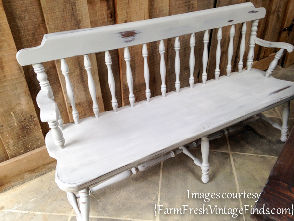 Bench Painted