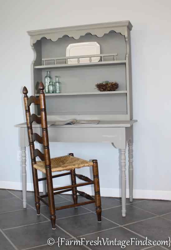 French Linen Desk