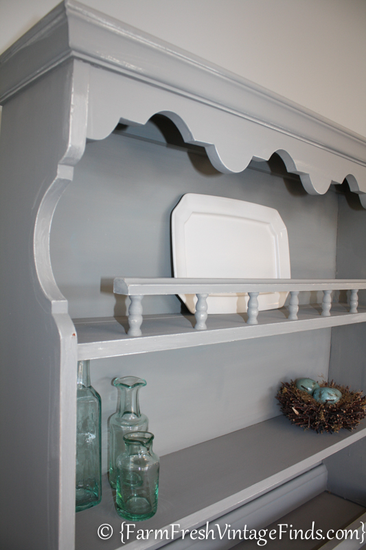 French Linen Hutch