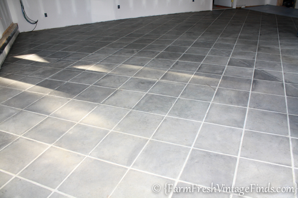 How to Stain a Concrete Garage-17