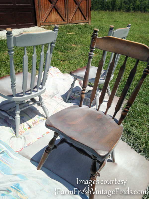 Spraying Chairs