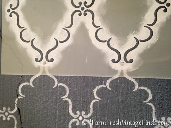 how to place a stencil