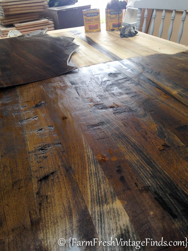 Refinishing a Farmtable-13