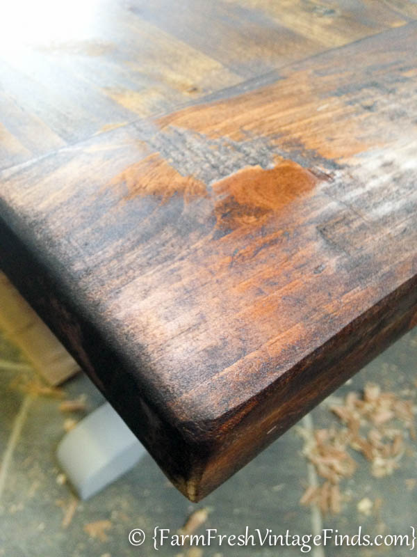 Refinishing a Farmtable-17