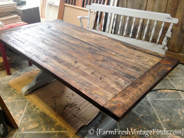 Refinishing a Farmtable-20