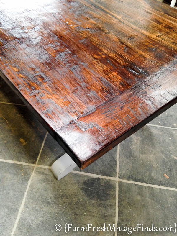 Refinishing a Farmtable-23