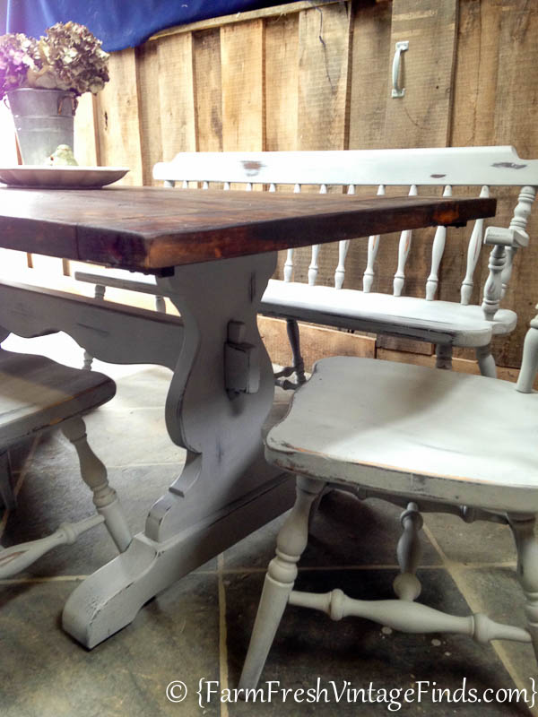Refinishing a Farmtable-27