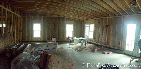 Whitewashed Plank Walls