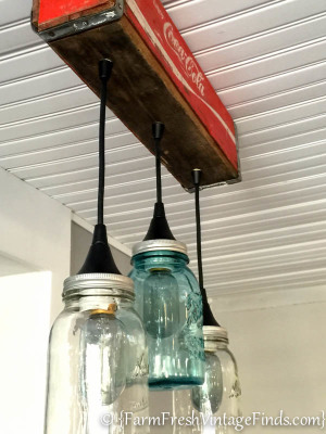 Coca Cola Mason Jar Light-5