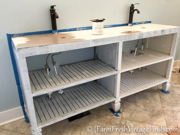 Custom Bathroom Vanities Prices how to build a custom vanity {without the custom price tag} - farm