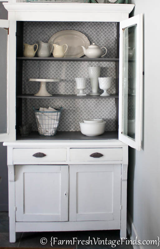 White and Gray Cupboard-11