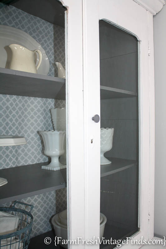 White and Gray Cupboard-18
