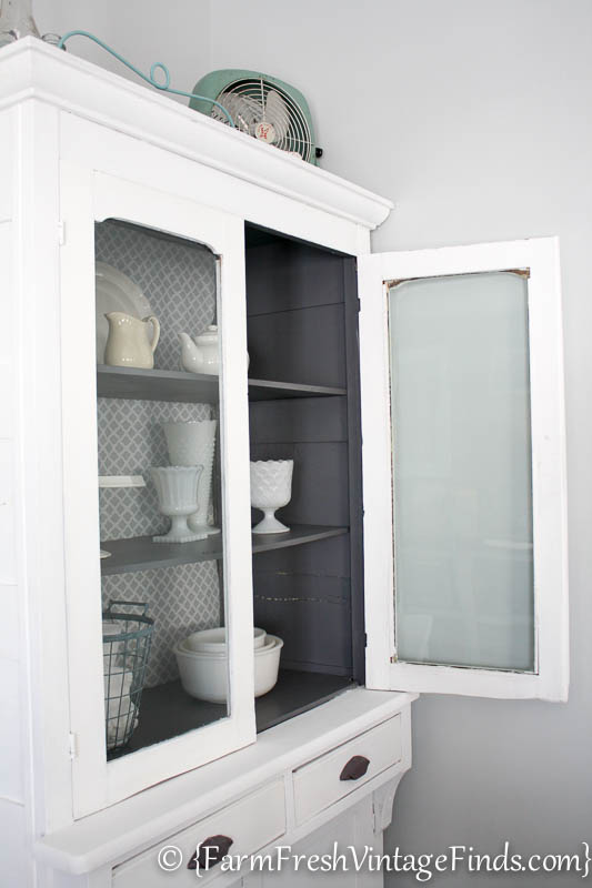 White and Gray Cupboard-6